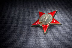 Russian Order Red Star Stock Photos