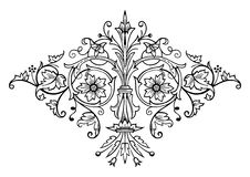 Russian ornament vector Royalty Free Stock Photos
