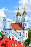 Russian Orthodox Assumption Cathedral in Vitebsk, Belarus. Stock Image