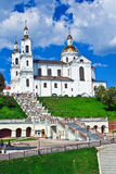 Russian Orthodox Assumption Cathedral in Vitebsk, Belarus. Royalty Free Stock Photos