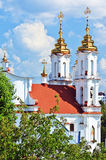 Russian Orthodox Assumption Cathedral in Vitebsk, Belarus. Stock Photo
