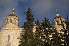 Russian orthodox cathedral, Jerusalem, Israel Stock Photo