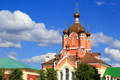 Russian orthodox cathedral Royalty Free Stock Photo