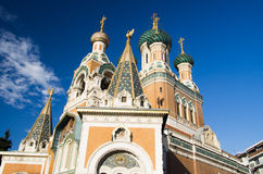 Russian Orthodox Cathedral, Nice, Stock Photography