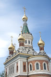 Russian orthodox cathedral in Vienna Royalty Free Stock Photos
