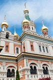 Russian orthodox cathedral in Vienna Royalty Free Stock Image