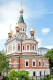 Russian orthodox cathedral in Vienna Royalty Free Stock Images