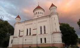 Russian Orthodox Cathedral, Vilnius, Lithuania Stock Photos