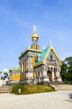 Russian orthodox chapel in Darmstadt Royalty Free Stock Photos