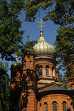 Russian Orthodox Chapel at the Historic Cemetery in Weimar Royalty Free Stock Photography
