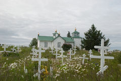 Russian Orthodox Chruch Stock Image
