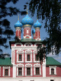 Russian orthodox church stock image