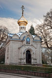 Russian Orthodox Church. Royalty Free Stock Photography