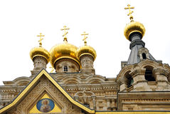 Russian Orthodox Church Stock Photography