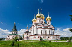 Russian orthodox church. Stock Images