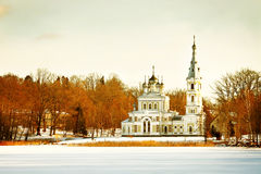 Russian Orthodox church royalty free stock photos