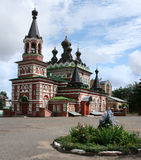 Russian orthodox church. In Kirov city in Russia Royalty Free Stock Images
