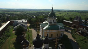 Russian Orthodox Church stock video footage