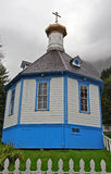 Russian Orthodox Church, Alaska Stock Images