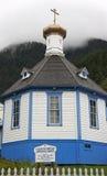 Russian Orthodox Church, Alaska Stock Photography