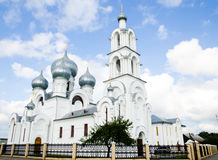 Russian Orthodox church in Belarus Royalty Free Stock Image