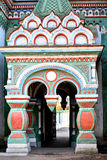 Russian orthodox church entrance Stock Images