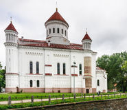 Russian Orthodox church of Holy Mother. Vilnius, Lithuania Stock Photography