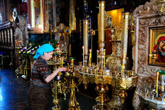 The Russian Orthodox Church Royalty Free Stock Images