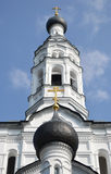Russian orthodox church. Royalty Free Stock Image