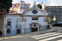 Russian orthodox church in Lisbon Royalty Free Stock Image