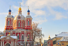 Russian orthodox church, Moscow Stock Photos