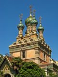 Russian Orthodox Church of the Nativity 01 Stock Photo