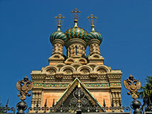 Russian Orthodox Church of the Nativity 03 Stock Photography