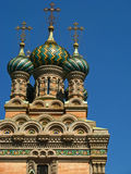 Russian Orthodox Church of the Nativity  Royalty Free Stock Photography