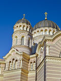 Russian Orthodox Church in Riga Royalty Free Stock Images