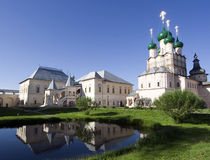 Russian orthodox church in rostov city Stock Images