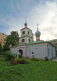 Russian orthodox church of Saint martyr Blaise in Moscow near Ar Stock Photos