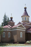 Russian Orthodox Church of St Alexis Tuapse Royalty Free Stock Photos