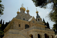 Russian orthodox Church St. Maria Magdalena Royalty Free Stock Photos