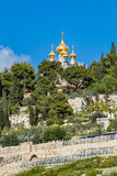 Russian Orthodox Church of St. Mary Magdalene royalty free stock photography