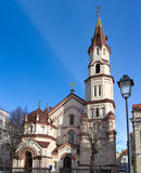 Saint  Nicholas Orthodox Church in Vilnius Stock Photos