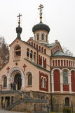 Russian Orthodox Church of St Vladimir in Mariansk royalty free stock photography