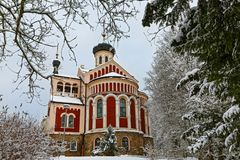 Church of St Vladimir royalty free stock images
