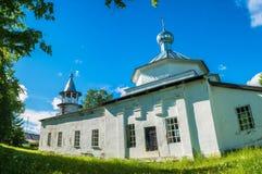 The Russian Orthodox Church in the village Kagirovo, Kostroma ob Stock Image