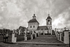 The Russian Orthodox Church temple Stock Images