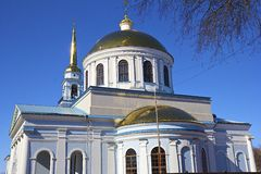 Russian orthodox church in Votkinsk Royalty Free Stock Photography