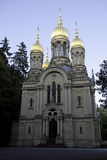 Russian Orthodox Church, Wiesbaden Stock Photography