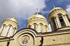Russian orthodox convent, Jerusalem Stock Images