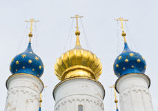 Russian Orthodox domes Royalty Free Stock Photography
