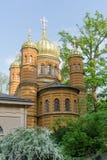 Russian Orthodox funerary chapel in Weimar. Russian Orthodox funerary chapel of Maria Pavlovna in Weimar in Germany stock photos